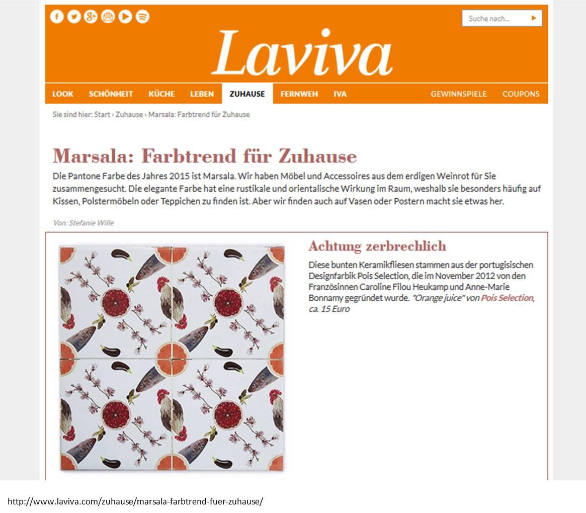 Laviva Com Gewinnspiele pois selection goldstück